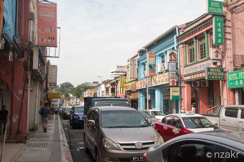インド人街風のチャイナタウン
