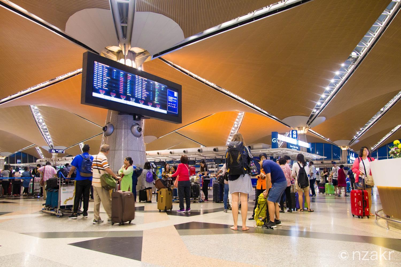 クアラルンプール国際空港 第一ターミナル