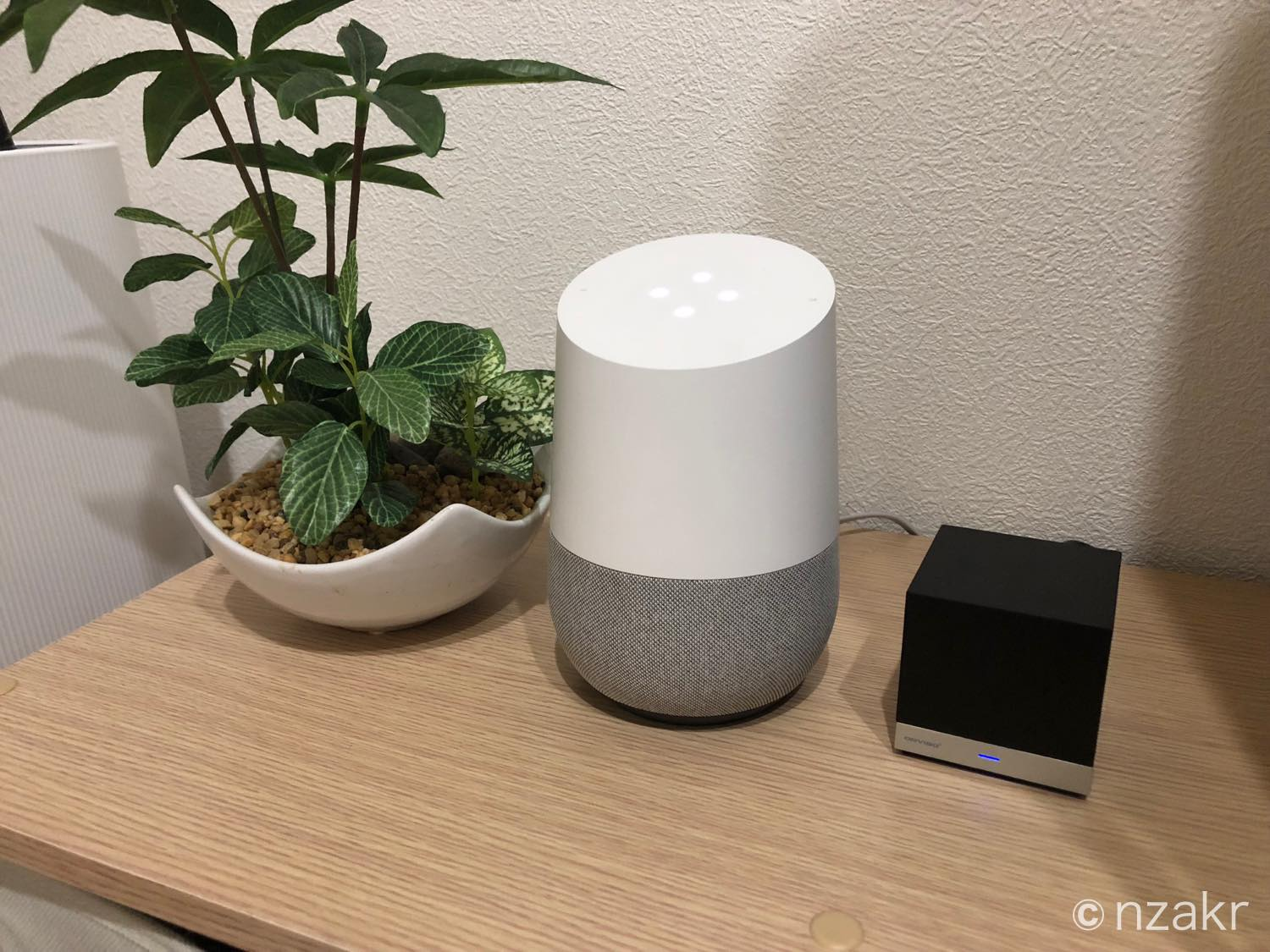 Google HomeとMagic Cube