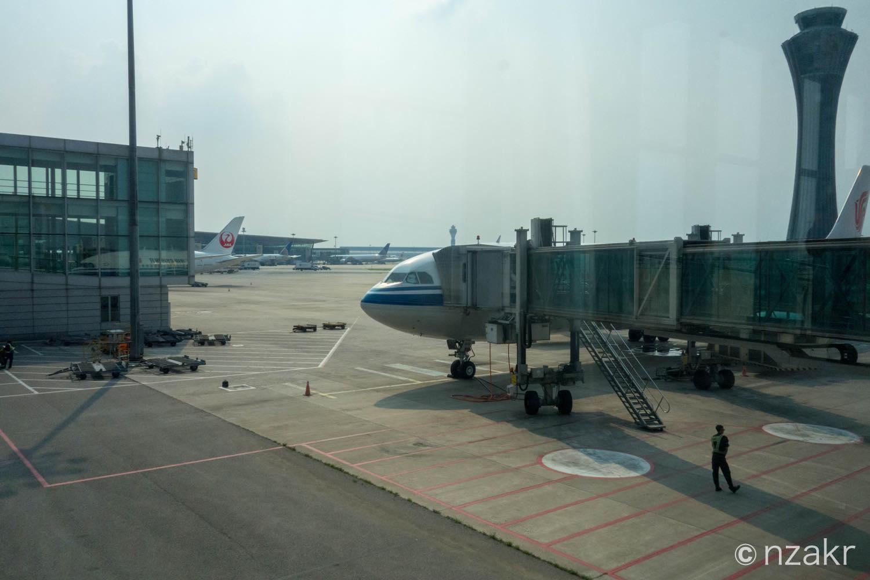 今回のフライトは機体 エアバスA330-300