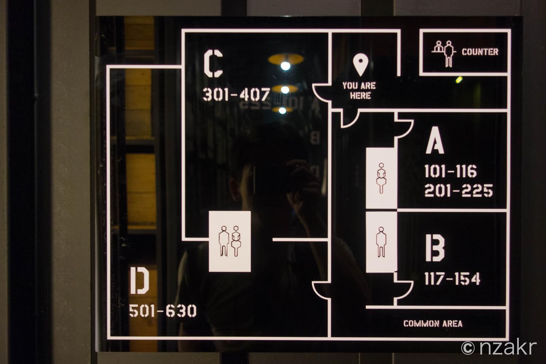 ブロックはA〜Dの4つに分かれている