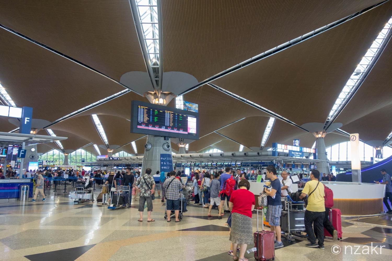 クアラルンプール国際空港 ターミナル1
