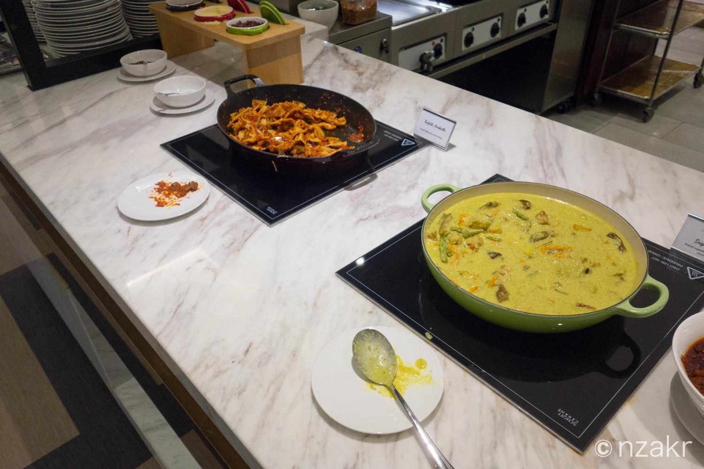 ラビオリパスタとスープ