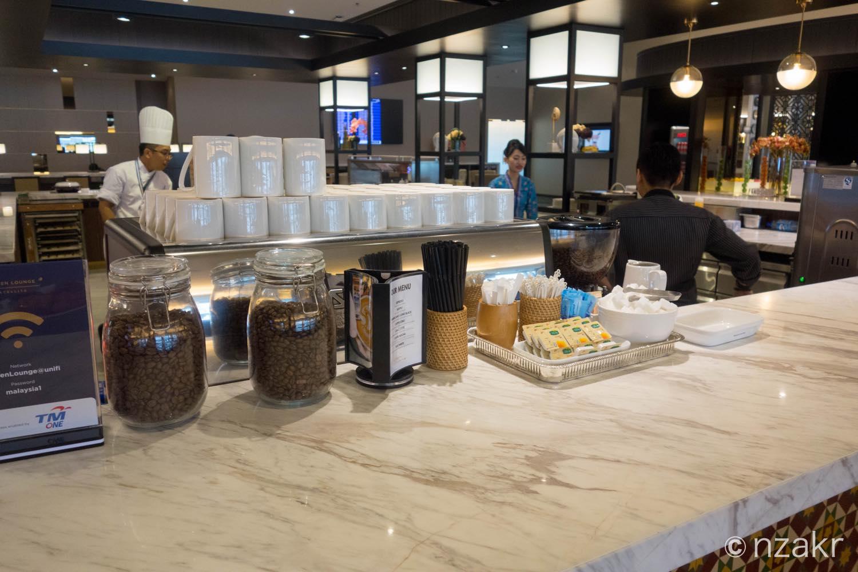オーダー式のコーヒー