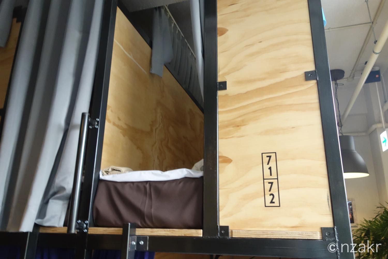 71番のベッド