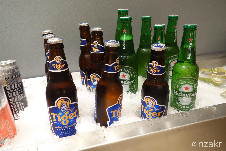 タイガービールとハイネケン