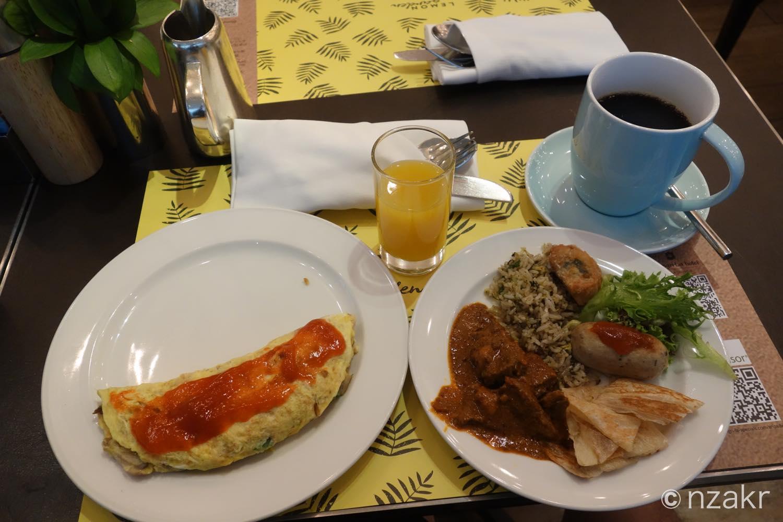 朝食いただきます