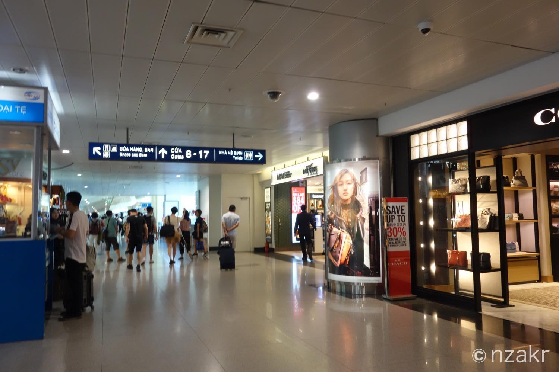 タンソンニャット国際空港のエアサイド