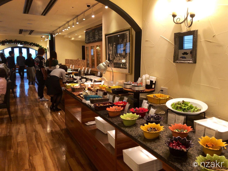 ホテルピエナ神戸の朝食の様子