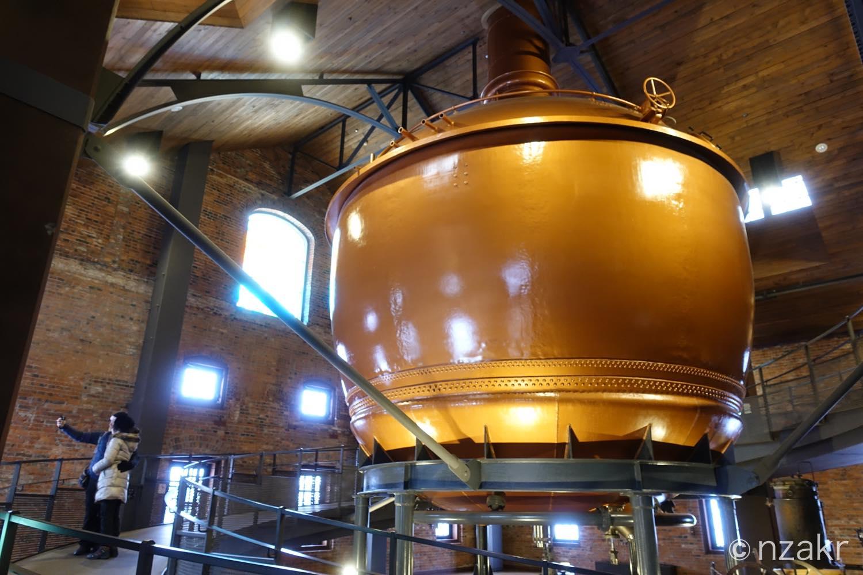 大きなビール窯