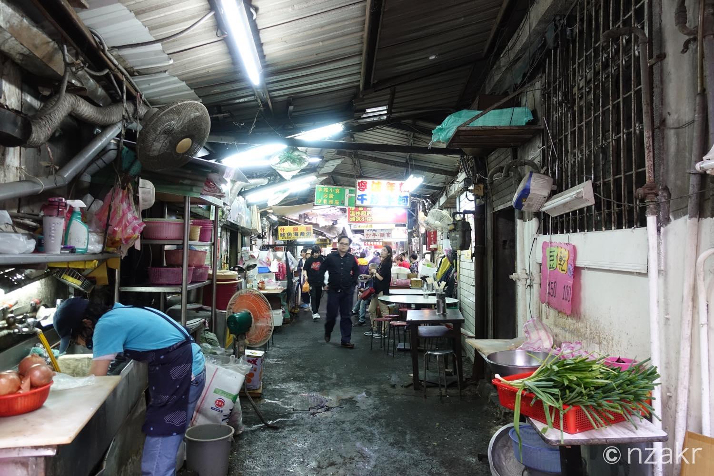 台北の路地