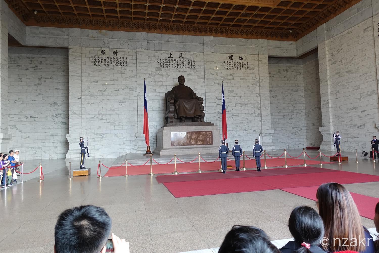 中正紀念堂の衛兵交代式