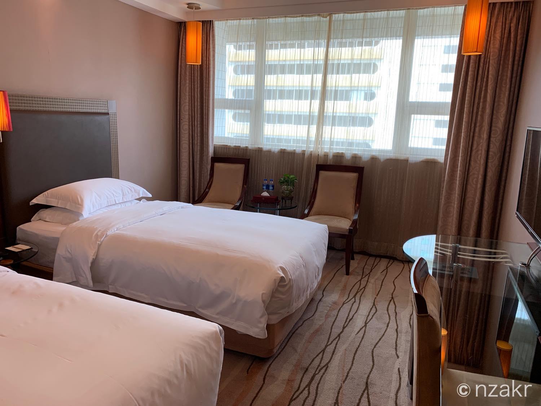 深セン上海ホテルの部屋